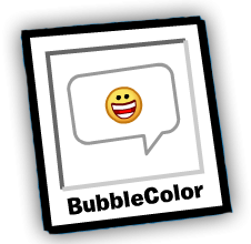 Bubblecolor free penguin