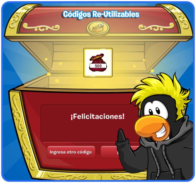 codigos free penguin